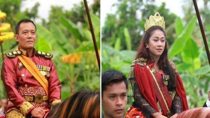 FAKTA Raja dan Ratu Keraton Agung Sejagat Bukan Suami Istri, Polisi Beber Peran Totok dan Fanni