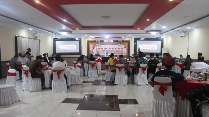 Polres Sanggau Gelar Rakor Lintas Sektoral, Sikapi Perkembangan Sitkamtibmas di Kabupaten Sanggau