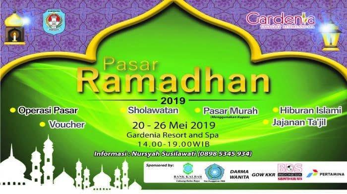 Pasar Ramadan Pemerintah Kabupaten Kubu Raya