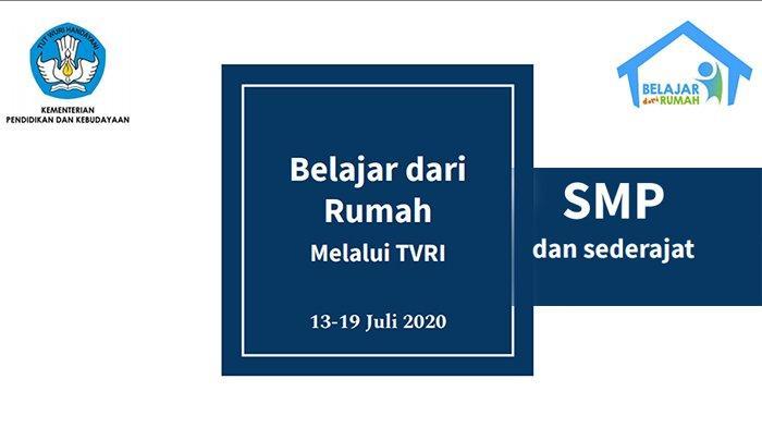 Soal TVRI Tanggal 30 April 2020 SMP, Tugas TVRI Hari Ini Matematika Pola Bilangan Live TVRI Sekarang