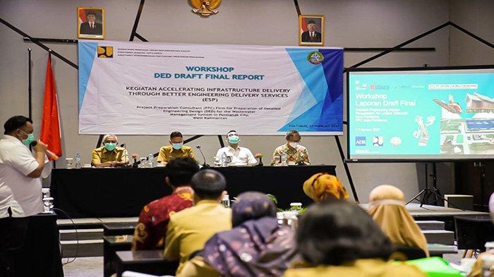Pemkot Pontianak Terima Bantuan 1,2 Triliun Rupiah untuk Pembangunan SPALD