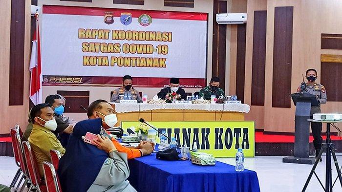 Wali Kota Edi Kamtono Sebut Kota Pontianak Turun Level ke PPKM Level 2