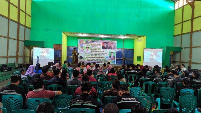 Buka Rakor Inovasi Desa, Ini Penjelasan Kadis Dinas Pemberdayaan Masyarakat dan Desa Kapuas Hulu