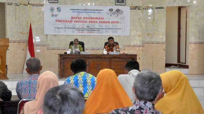 Burhan Yakin Program Inovasi Desa Mampu Dongkrak Pembangunan Daerah di Kabupaten Mempawah