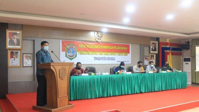 Pemkab Sekadau Gelar Rakor Tim Pemantauan Perkembangan Politik di Daerah Kabupaten Sekadau 2020