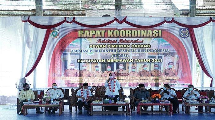 Bupati Erlina Harap Kepala Desa Efektifkan Dana Desa Anggaran Tahun 2021