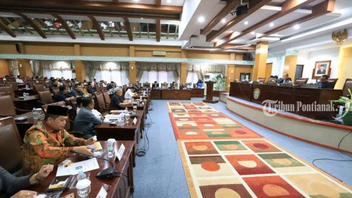Sidang Paripurna PU DPRD Kota Pontianak, Seluruh Anggota Fraksi Partai Gerindra Tak Hadir