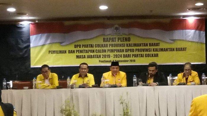 Golkar Usulkan Tiga Nama Calon Wakil Ketua DPRD Provinsi Periode 2019-2024 ke DPP
