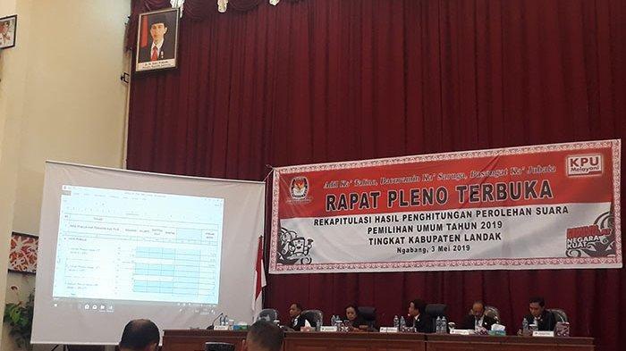 Ketua KPU Landak: Coba-Coba Ganggu Rapat Rekapitulasi, TNI/Polri Akan Bertindak Tegas