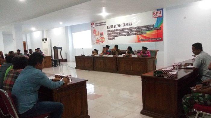 Hari Ini, KPU Mempawah Adakan Rapat Pleno Terbuka Rekapitulasi dan Pentepan DPS