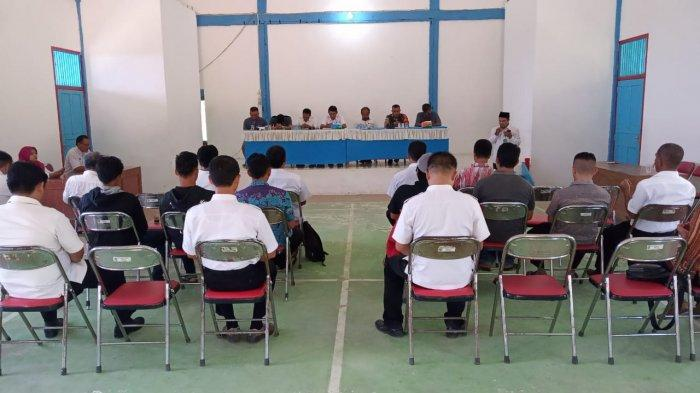Rapat Sosialisasi Gawai Dayak ke X Tahun 2019 di GPU Kecamatan Belitang