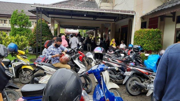 117 Santri yang Ingin Pulang ke Pondok Pesantren Lakukan Rapid Tes, Hasilnya Semua Non Reaktif