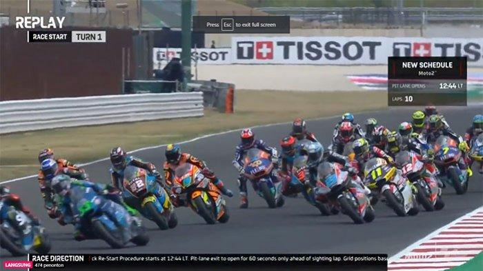 HASIL Moto2 Jerez 2021 Malam Ini - Fabio Di Giannantonio Juara, Cek Klasemen Sementara Moto2 2021