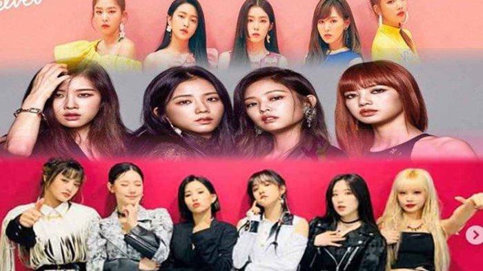 Red Velvet, BLACKPINK dan(G)I-DLE Puncaki Girl Grup K-Pop Terpopuler Sepanjang April 2020