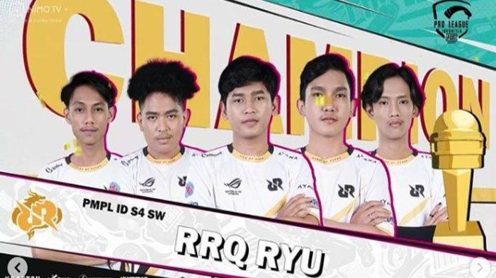 Rekap Hasil dan Klasemen Akhir PMPL ID Season 4 - RRQ Ryu Juara, Bigetron RA Nyaris Tersingkir