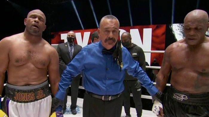 REKAP Hasil Mike Tyson Vs Roy Jones Jr - Tyson Unggul Statistik, Begini Jalannya Pertandingan