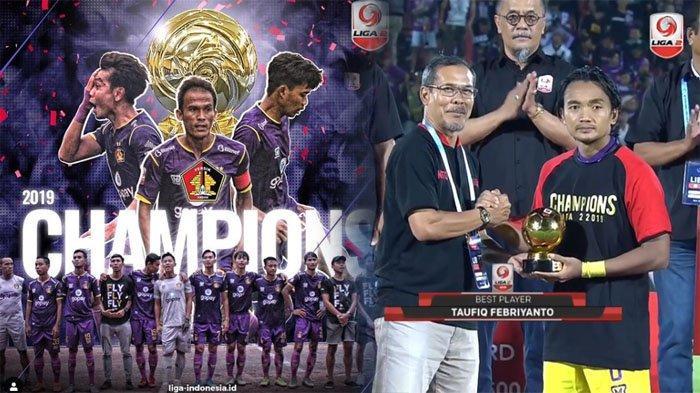 UPDATE Daftar Juara Liga 2 Indonesia Sepanjang Masa ! Persik Juara Liga 2 2019, Persebaya Terbanyak