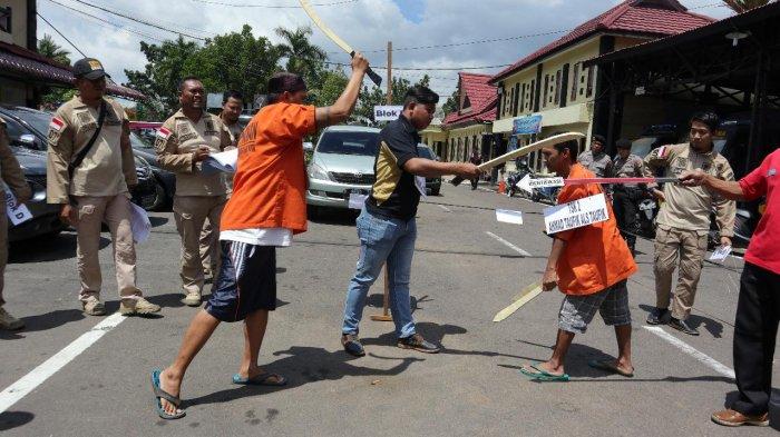 Terungkap! Perkelahian Berujung Kematian di Pasar Flamboyan, Aksi Kejar-kejaran Hingga Cekcok Mulut