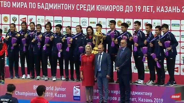 Usai Rebut Piala Suhandinata, 11 Wakil Indonesia Berjuang Babak 16 Besar Kejuaraan Dunia Junior 2019