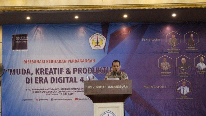 Untan Dorong Mahasiswa Jadi Wirausaha, Gandeng Kementerian Perdagangan RI