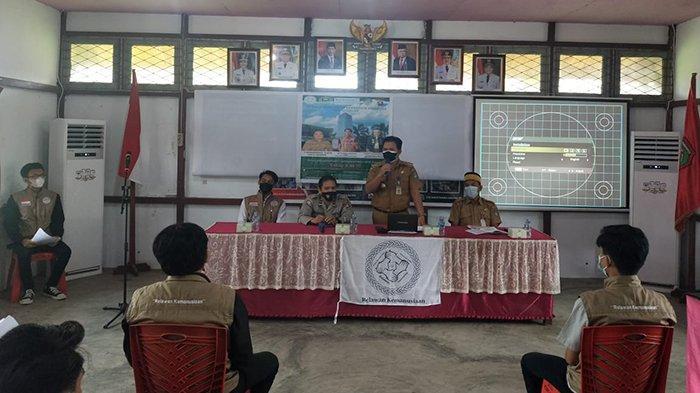 Hadiri Acara Workshop Relawan Kemanusiaan, Ini yang Disampaikan Binmas Polres Landak