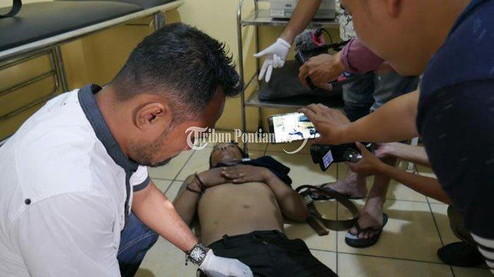 FOTO: AT, Residivis Pencurian Kendaraan Bermotor di Pontianak 'Dihadiahi' Timah Panas - resedivis-at-3.jpg
