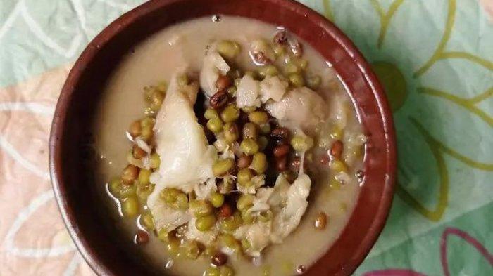 Resep Bubur Kacang Hijau Durian Lengkap Cara Membuat Bubur Kacang Dijau Durian