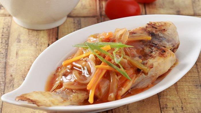 Resep Ikan Panggang Saus Bangkok, Resep Praktis dan Mudah