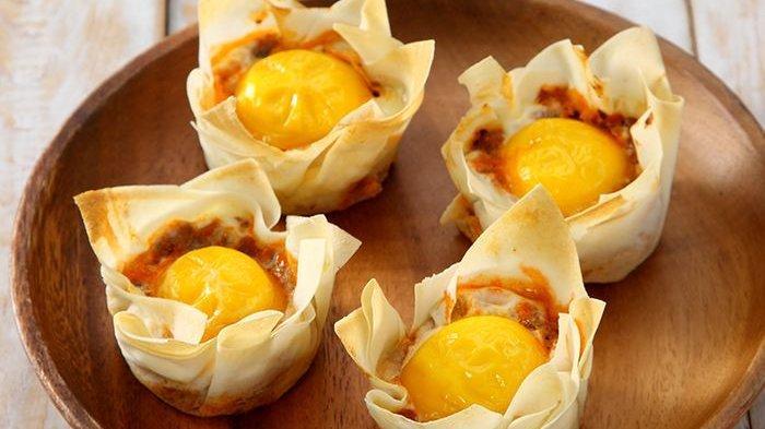 Resep Mangkuk Telur Daging, Sarapan Praktis Citarasa Istimewa