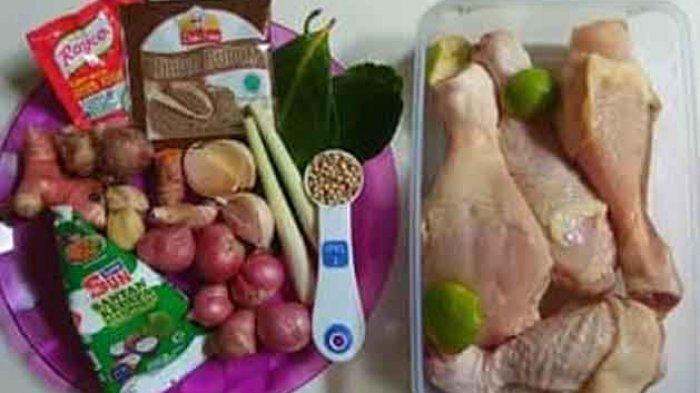 Resep Opor Ayam Kuning. Langkah 1 siapkan bahan yang akan digunakan.