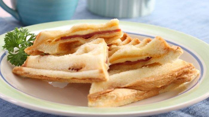 Resep Roti Panggang Wafel, Inspirasi Membuat Camilan Enak