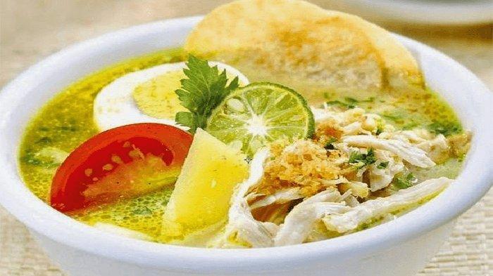 RESEP Soto Ayam Kuning, Menu Sahur dan Buka Puasa Ramadhan