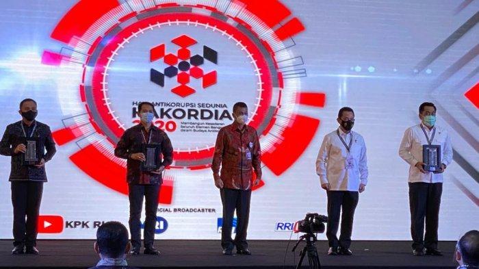 Kategori Penyelesaian Kasus Korupsi Terbanyak, Polda Kalbar Mendapat Penghargaan KPK