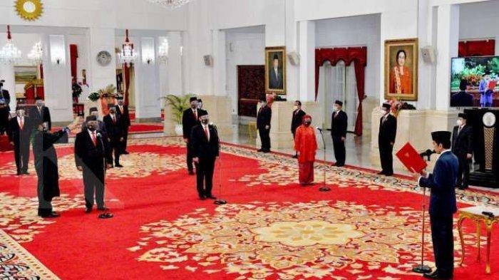 RESHUFFLE Kabinet 2021 Terbaru Besok? Nomenklatur Kabinet Indonesia Maju Dipastikan Berubah