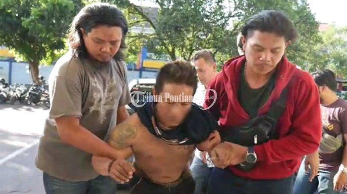FOTO: AT, Residivis Pencurian Kendaraan Bermotor di Pontianak 'Dihadiahi' Timah Panas - residivis-at-1.jpg