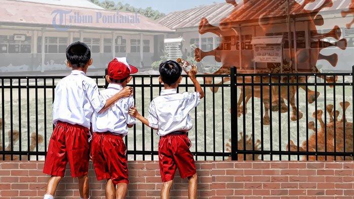 POSITIF Jadwal Sekolah Hari Pertama Senin 13 Juli 2020 PAUD SD SMP SMA/SMK, Rilis Daerah Zona Hijau