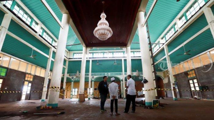 Warga Harap Masjid Jami dapat Ditempati pada Bulan Ramadan