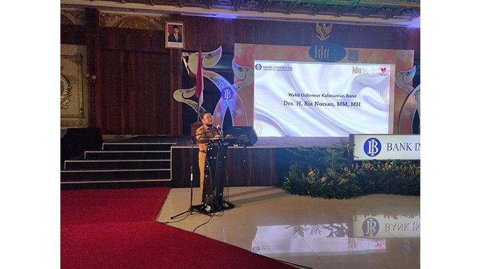 Wagub Ria Norsan Buka Pameran UMKM Terbatas KKI 2020 Bank Indonesia