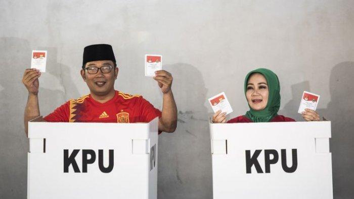 Ridwan Kamil-Uu Ruzhanul Ulum Menangi Pilkada Jawa Barat Versi Real Count PKS