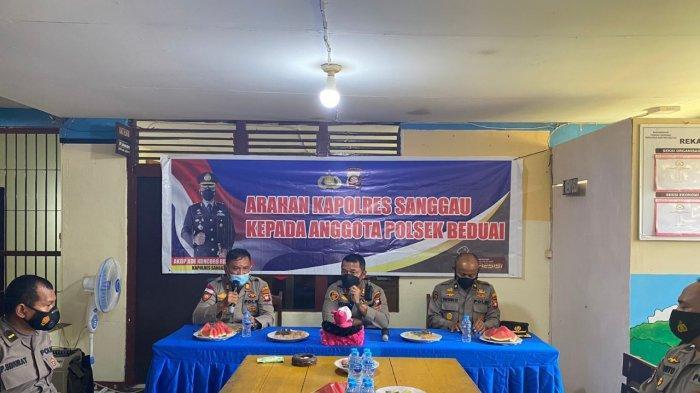 Kunjungan Kerja Kapolres Sanggau ke Polsek Jajaran, Ini Penekanan yang Disampaikan