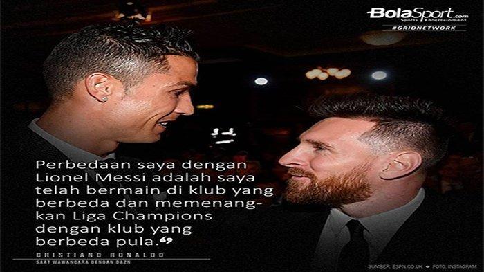 RIVALITAS Cristiano Ronaldo dan Lionel Messi Diungkap, Ini Keunggulan Sang Megabintang Juventus