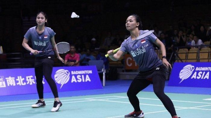 Hasil Bulutangkis Indonesia Master 2019 - Pastikan 1 Gelar, Duel Final Della/Rizki vs Siti/Ribka