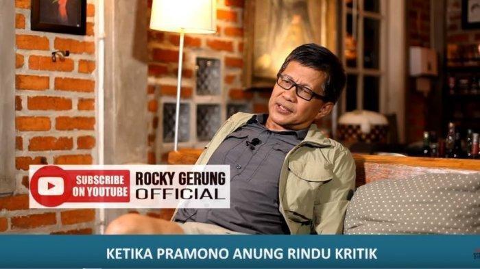 Reaksi Rocky Gerung saat Pramono Anung Rindukan Kritik Fadli Zon & Fahri Hamzah ke Pemerintah Jokowi