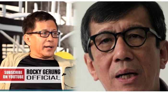 Jokowi Harusnya Pecat Yasonna Laoly, Rocky Gerung: Kalau Mundur Terlalu Ringan
