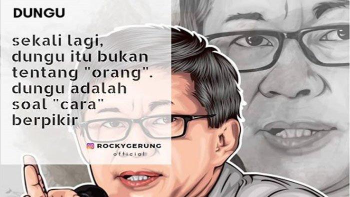 Rocky Gerung is Back! Langsung 'Tancap Gas' Sebut Presiden Tak Ngerti Tentang Pancasila & Ormas FPI