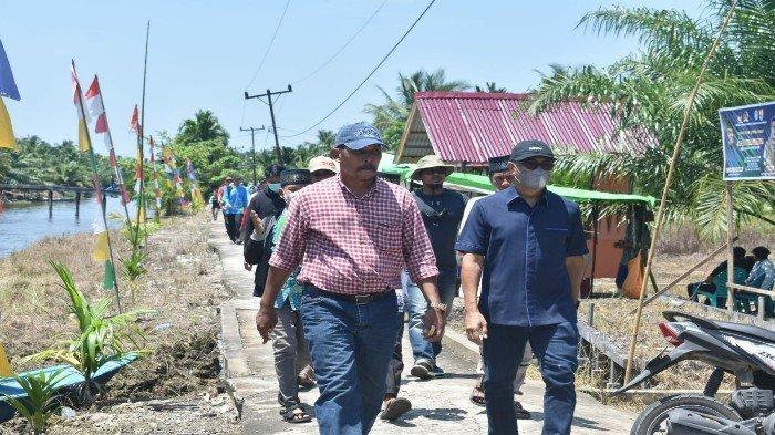 Warga Desa Pasir Putih Terima Bantuan Bedah Rumah dari Kementrian PUPR