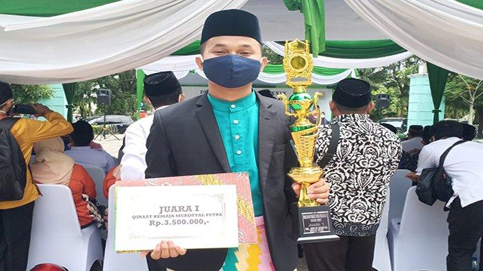 Khairul Umam Bangga Berhasil Raih Juara 1 pada MTQ tingkat Kota