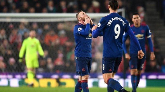 Wayne Rooney Selamatkan Setan Merah dari Kekalahan