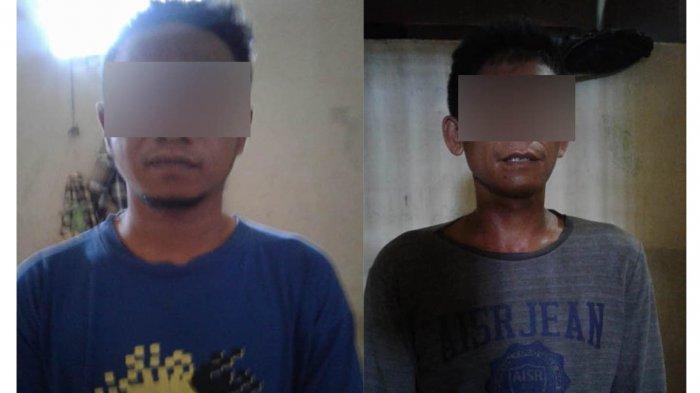 Dua Pria Diringkus Polisi, Simpan Sabu di Gantungan Kunci