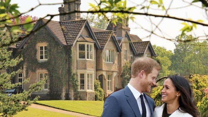 Wow! Dapat Rumah Hadiah Pernikahan, Begini Isi Rumah Pangeran Hary dan Meghan Markle!